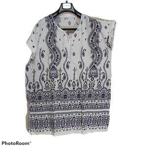 *3/$85* tunic shirt loose soft airy summer beach